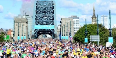 Athletics - 2014 Bupa Great North Run - Newcastle