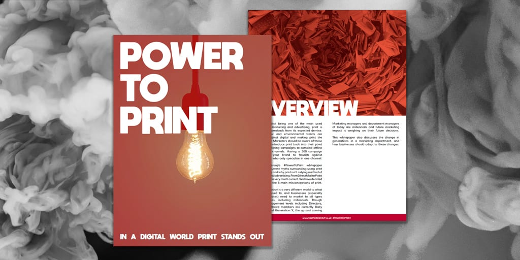 Power To Print Whitepaper