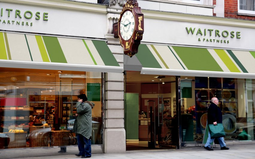 Waitrose and partners store front