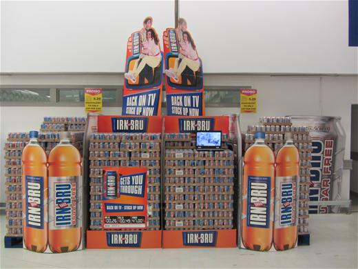 IRN BRU Display 1