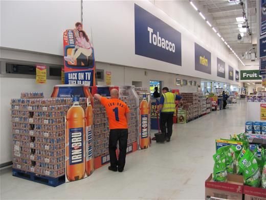 IRN BRU Display 2