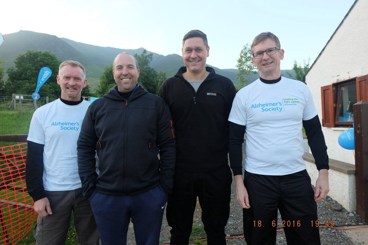 Simpson Group Move Mountains with Fundraising