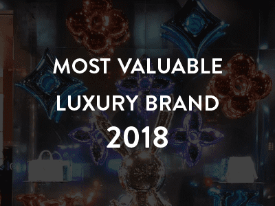 Most valuable luxury brand 2018