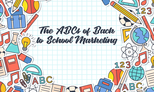 Back to school marketing cover