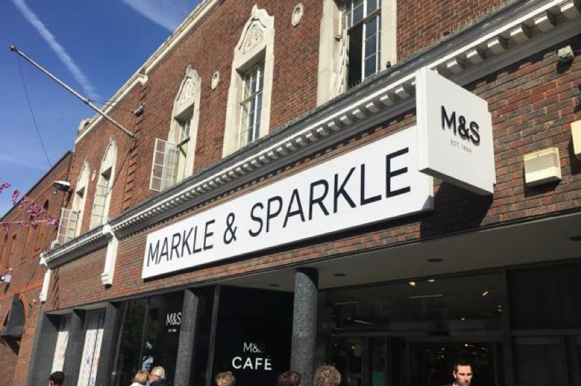 Markle and sparkle rebrand 2